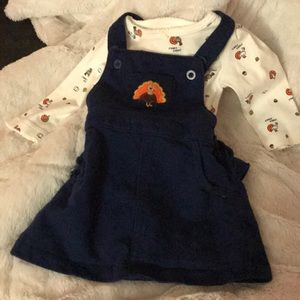 Carter's turkey dress
